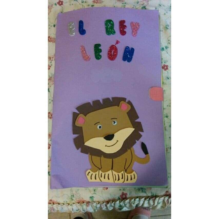 Imagen producto Cuento El Rey León en braille 3