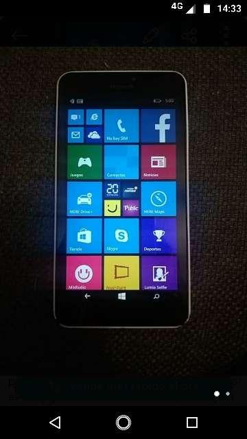 Imagen Movil Microsoft Lumia Denim
