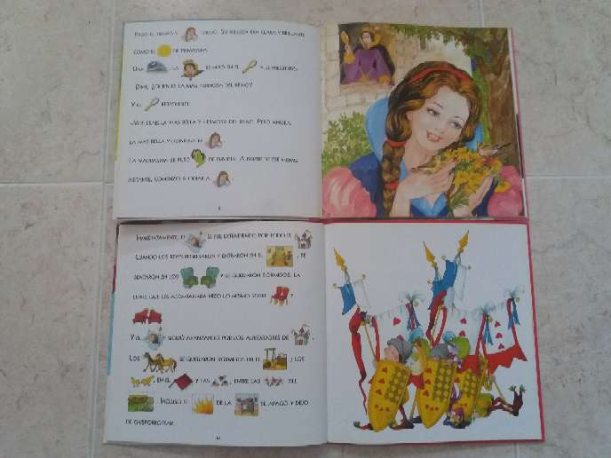 Imagen producto 2 Libros de princesas con pictogramas  2