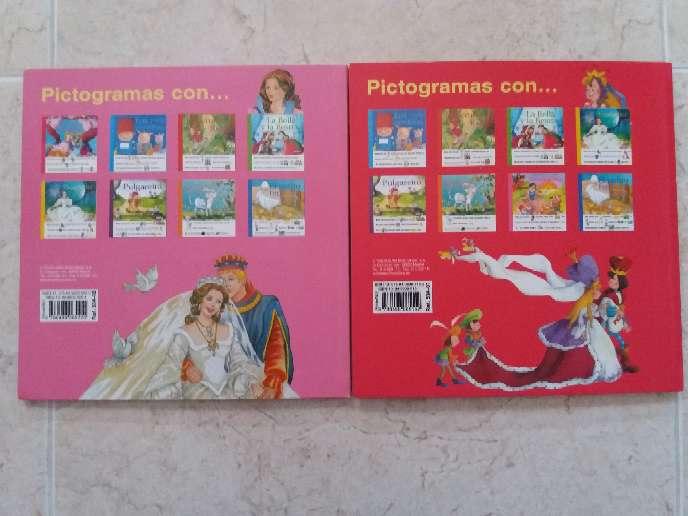 Imagen producto 2 Libros de princesas con pictogramas  3