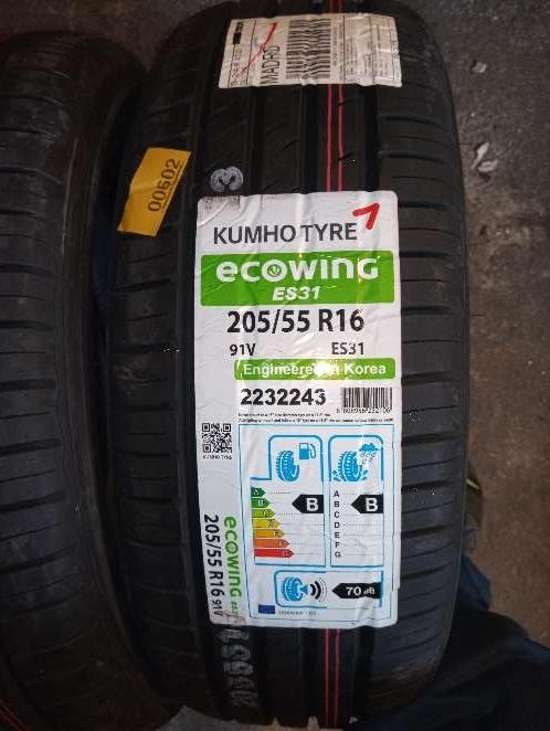 Imagen Neumáticos Kumho 205/55R16 91V