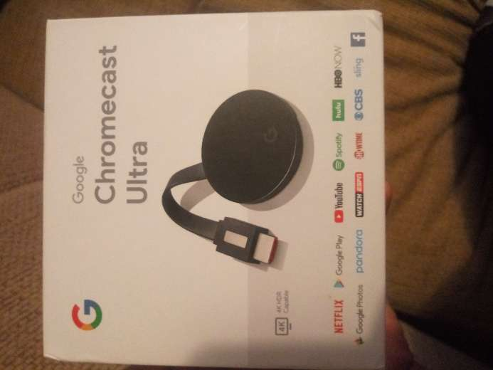 Imagen I sell a great Chromecast ultra you can put Netflix in 4k and HDR capable