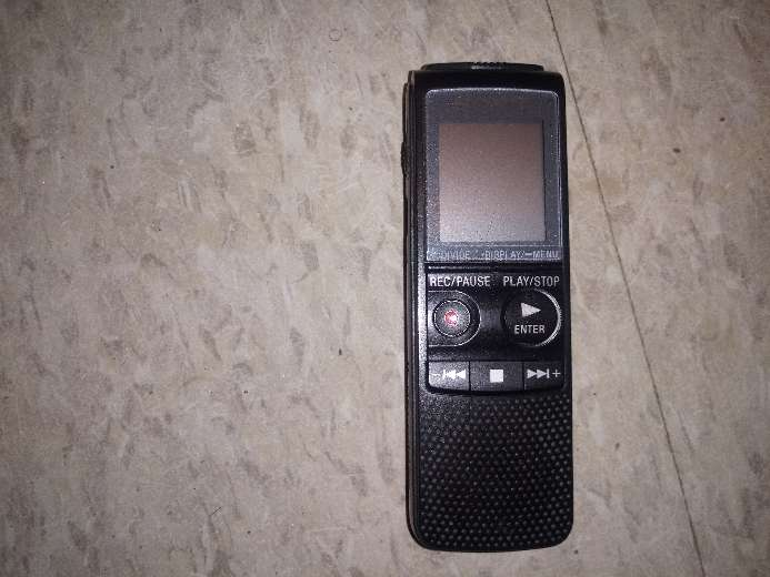 Imagen producto I sell a good recorder sony 2