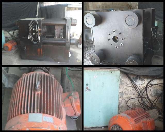 Imagen vendo prensa de estruccion de aluminio