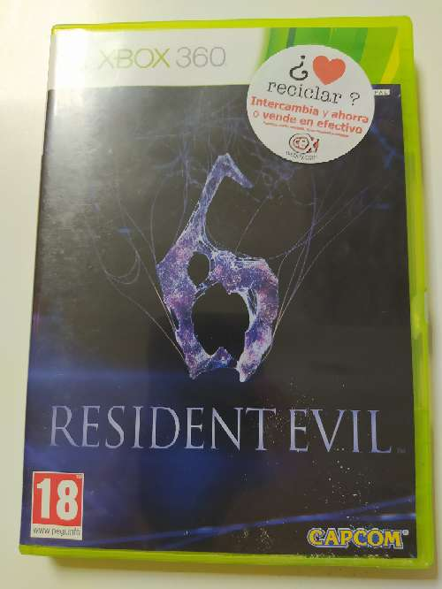 Imagen producto Resident Evil 6 para Xbox 1