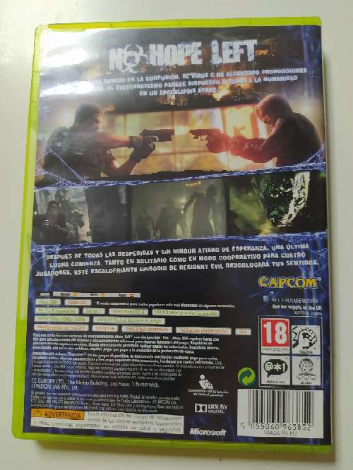 Imagen producto Resident Evil 6 para Xbox 2
