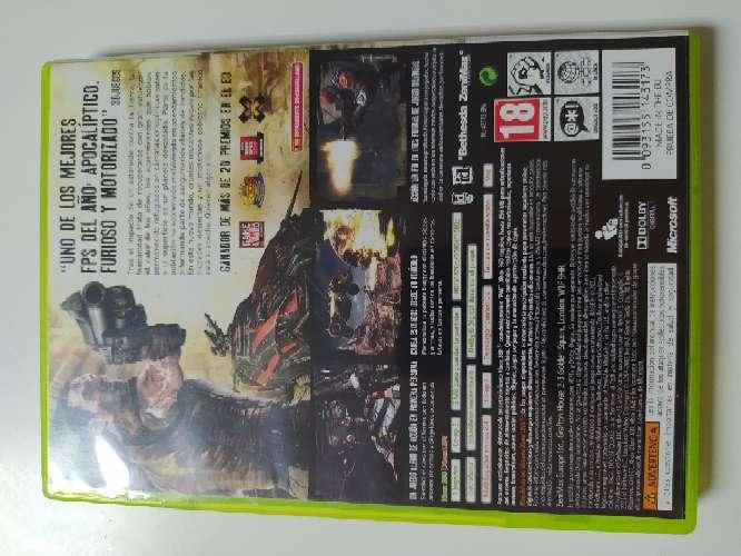Imagen producto RAGE para Xbox 2