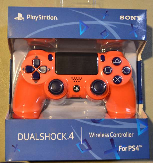 Imagen PS4 PlayStation 4 Controller, Sunset Orange, NEW
