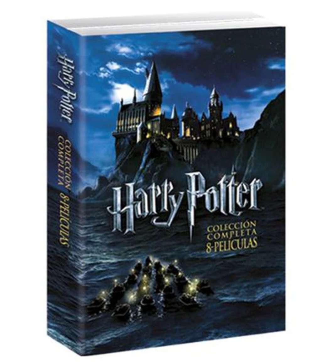 Imagen Saga completa DVDs Harry Potter
