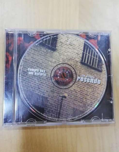Imagen CD Rosendo siempre hay una historia