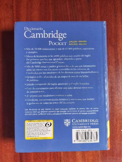 Imagen producto Diccionario English-Español / Español-English 2