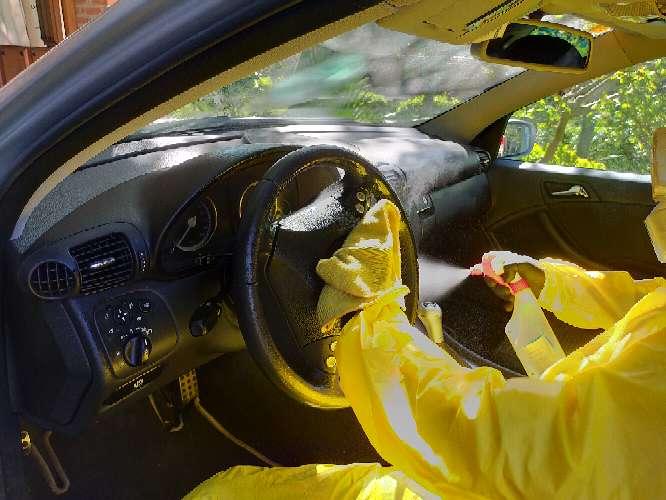 Imagen Desinfecció de vehículo