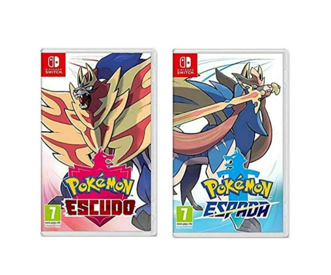 Imagen producto Pokémon Espada Y Pokémon Escudo A Elegir 1