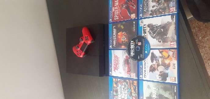 Imagen producto PS4 1TB + mando casi nuevo + 8 juegos 7