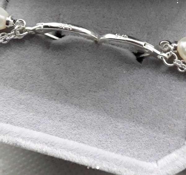 Imagen producto Pendientes de Plata y Perlas  2