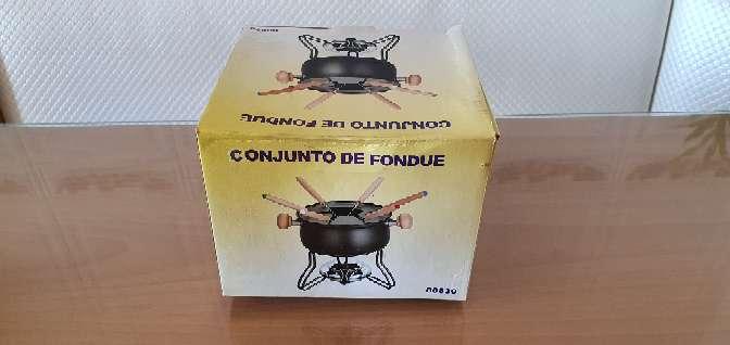 Imagen producto Fondue para carne, queso o chocolate con fruta NUEVA 1