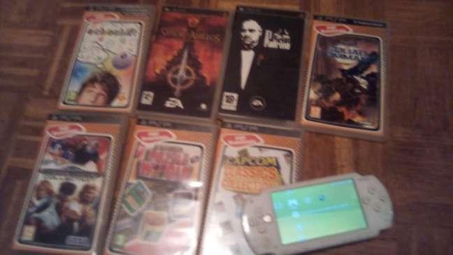 Imagen PSP con juegos