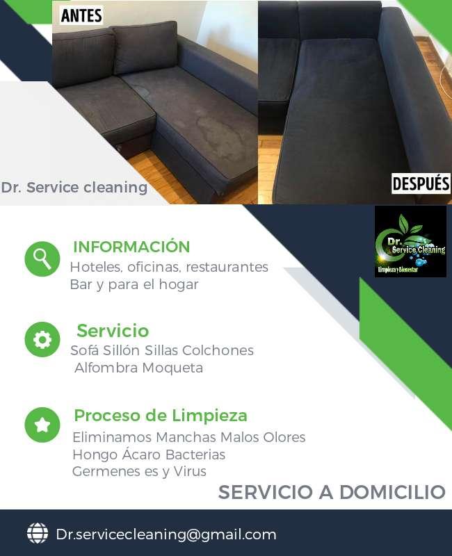 Imagen Limpieza y desinfectacion de Sofa