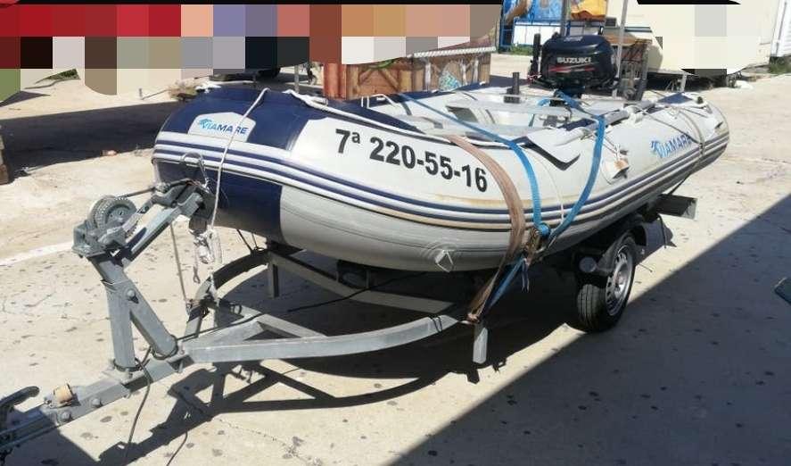 Imagen producto Zodiac 380 preparado para salir a pescar 5