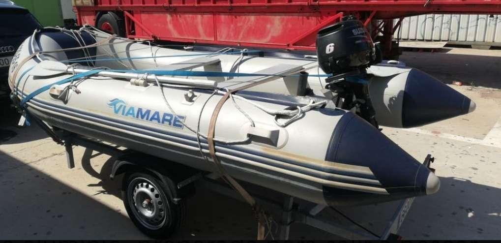 Imagen producto Zodiac 380 preparado para salir a pescar 4