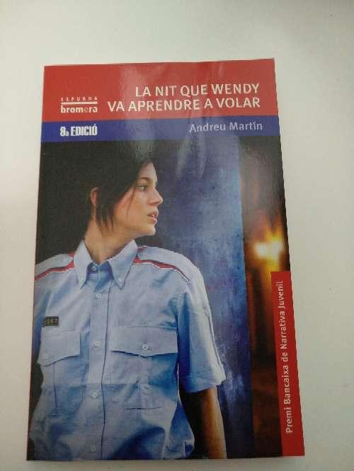 Imagen Libro la nit que Wendy va aprendre a volar