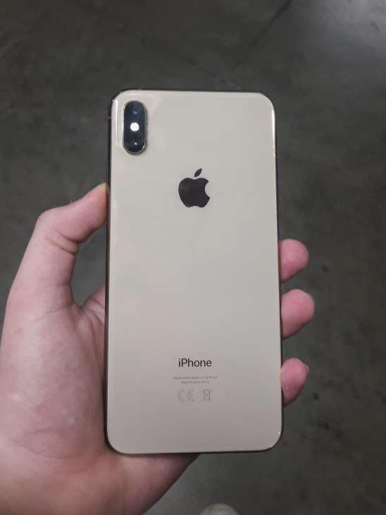 Imagen producto Iphone XS MAX color oro de  64gb 2