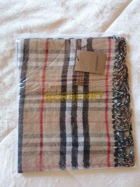 Imagen producto BURBERRY bufanda cashmere original 3