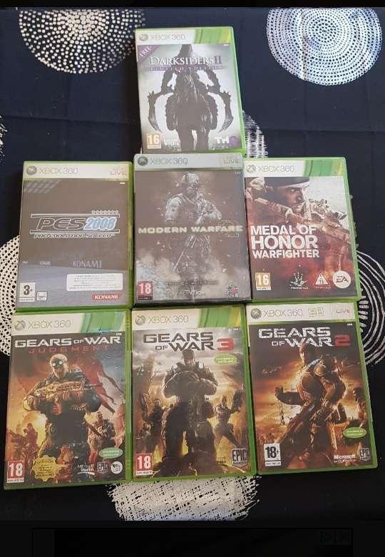 Imagen producto Xbox 360 + 7 juegos 4