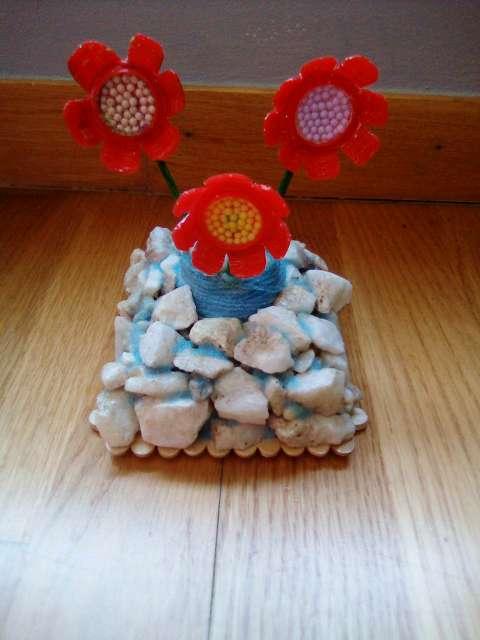 Imagen producto Flores con maceta 2