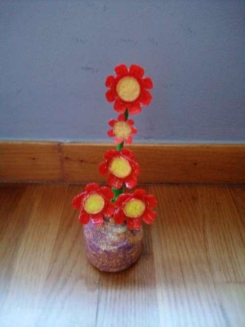 Imagen producto Flores con maceta 3
