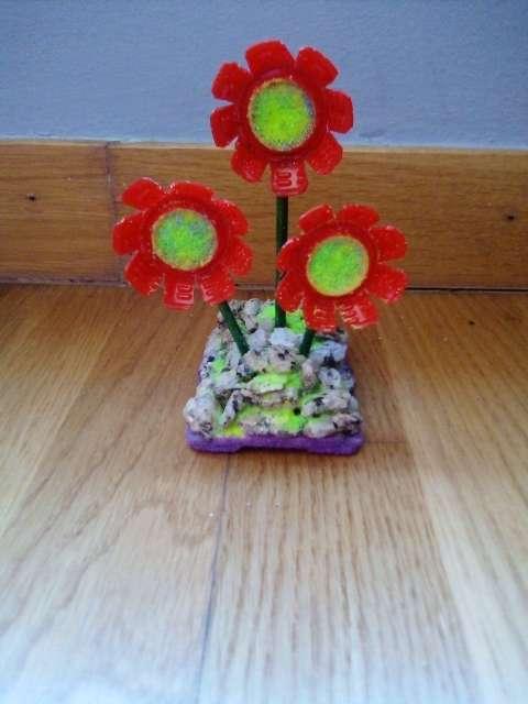 Imagen producto Flores con maceta 4