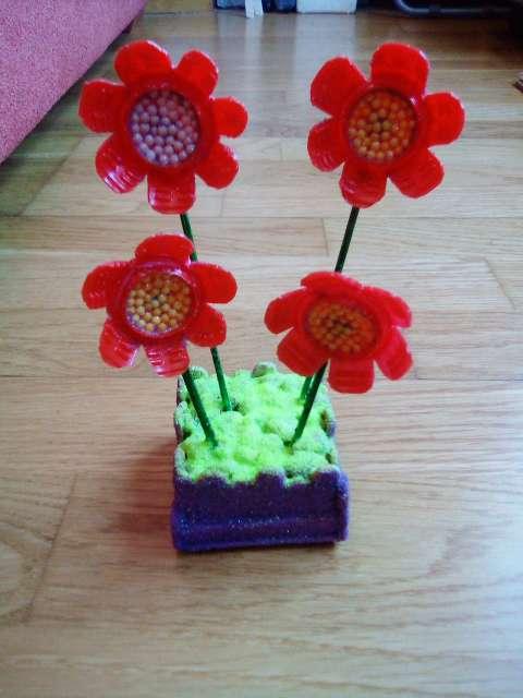 Imagen producto Flores con maceta 5