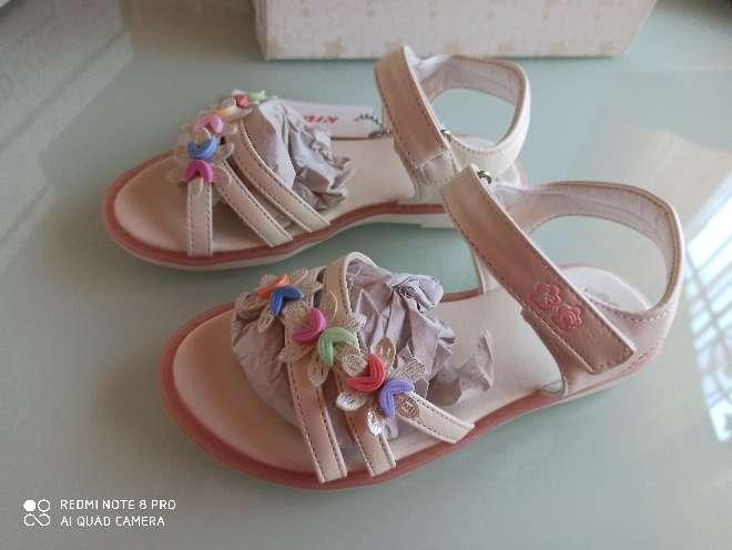 Imagen producto Sandalias blancas t. 29 y 33 1