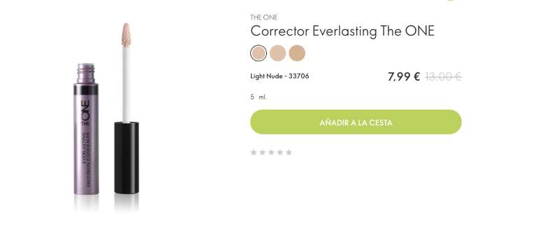 Imagen Corrector everlasting the one