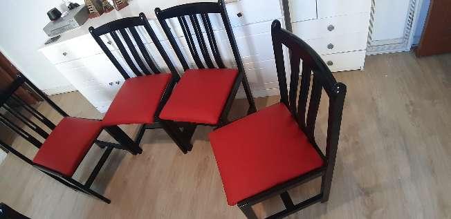 Imagen sillas de madera mazeza en muy buen estado muy cómodas