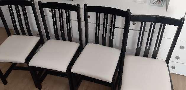 Imagen sillas de polipiel