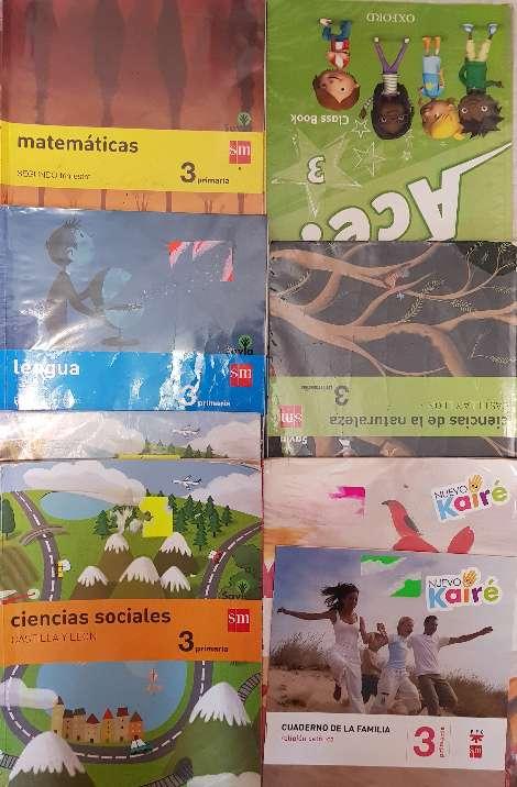 Imagen Libros 3°primaria