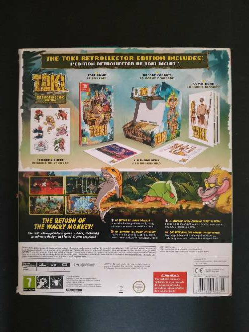 Imagen producto Toki Collector's Edition Nintendo Switch 2