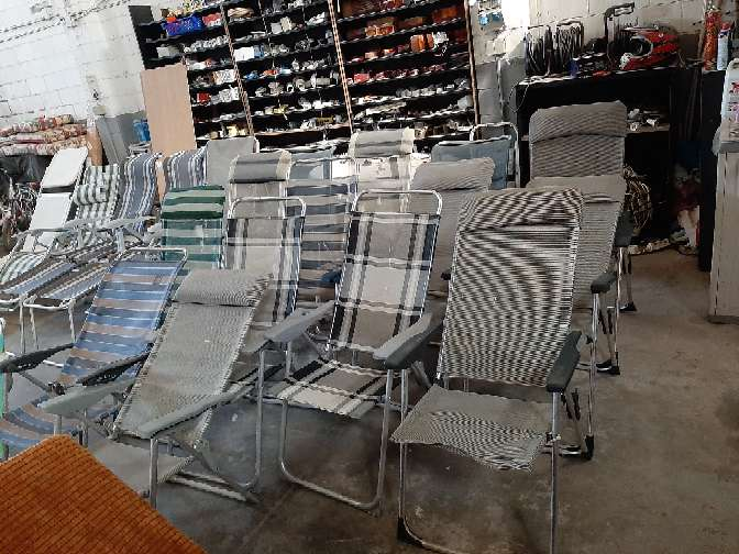Imagen la venta de las sillas de aluminio