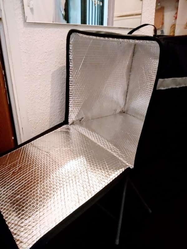 Imagen producto Mochila isotérmica para repartir comida 2