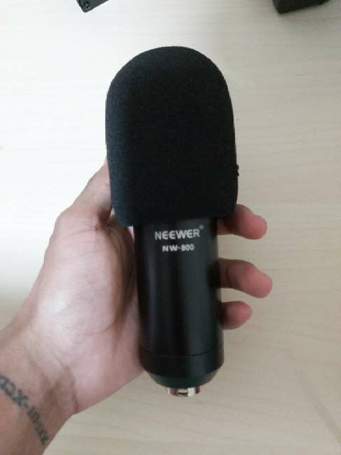 Imagen producto Micrófono Neewer NW-800 Y Power Phantom 48v 2