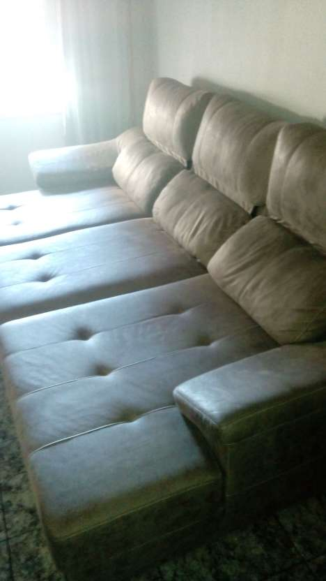 Imagen producto Sofá de piel auténtica primera calidad,3 meses de uso , vendo por cambio por tena de espacio,,,,me costo, 2500 euros !!!!!3 metros de largo por180 de ancho .674463248 2
