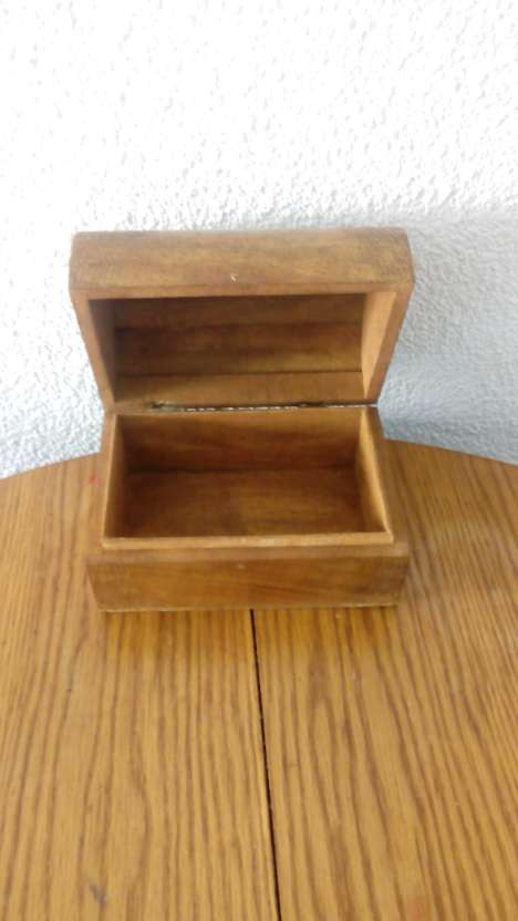 Imagen producto Baúl de madera de palmera, de las islas maldivas!! 2
