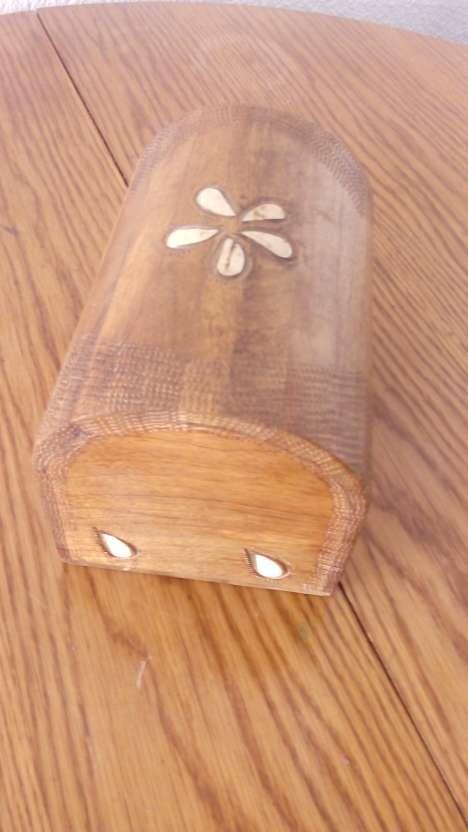 Imagen producto Baúl de madera de palmera, de las islas maldivas!! 3