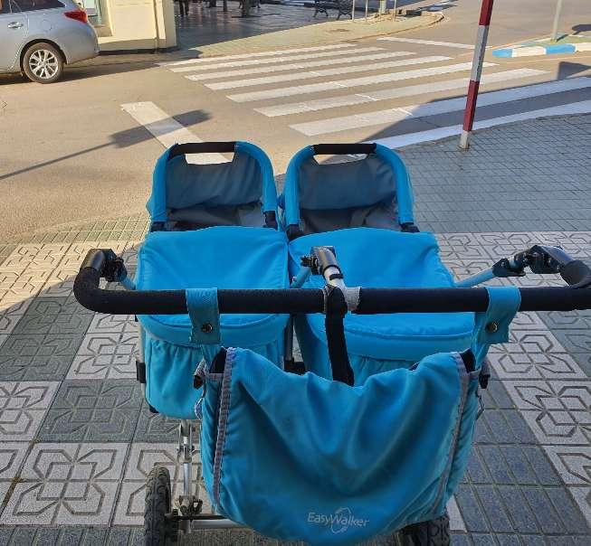 Imagen producto Vendo cochecito gemelar EasyWalker. 3
