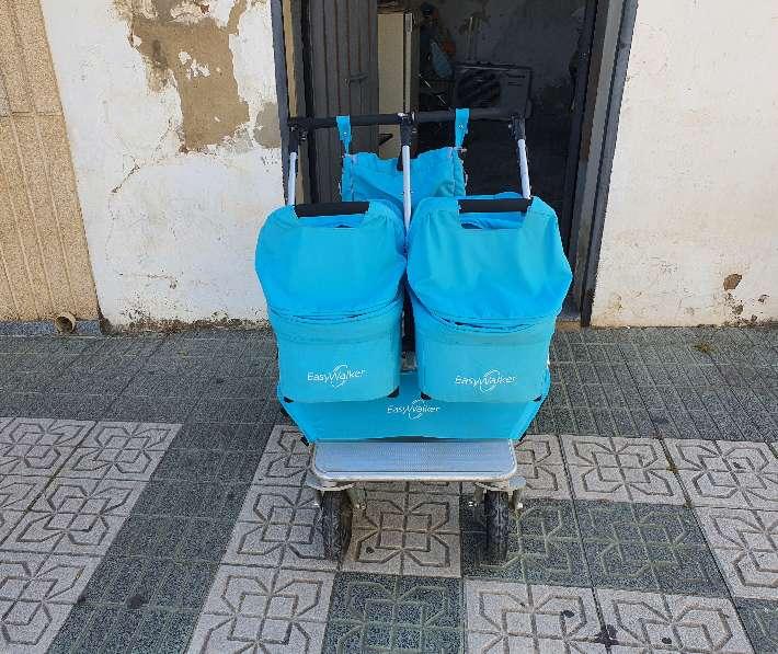 Imagen producto Vendo cochecito gemelar EasyWalker. 4