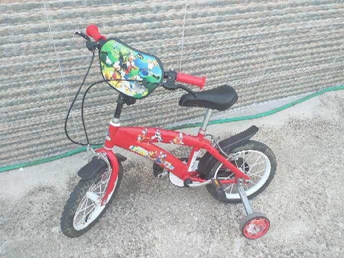 Imagen Bici de niño de micki maus