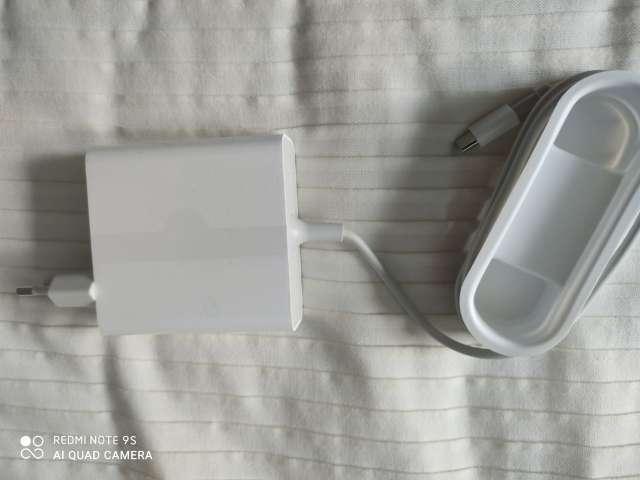 Imagen Cargador Original Xiaomi 65W tipo C salida UE cargador portátil QC 4,0