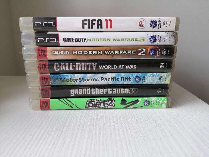 Imagen 7 videojuegos de PS 3