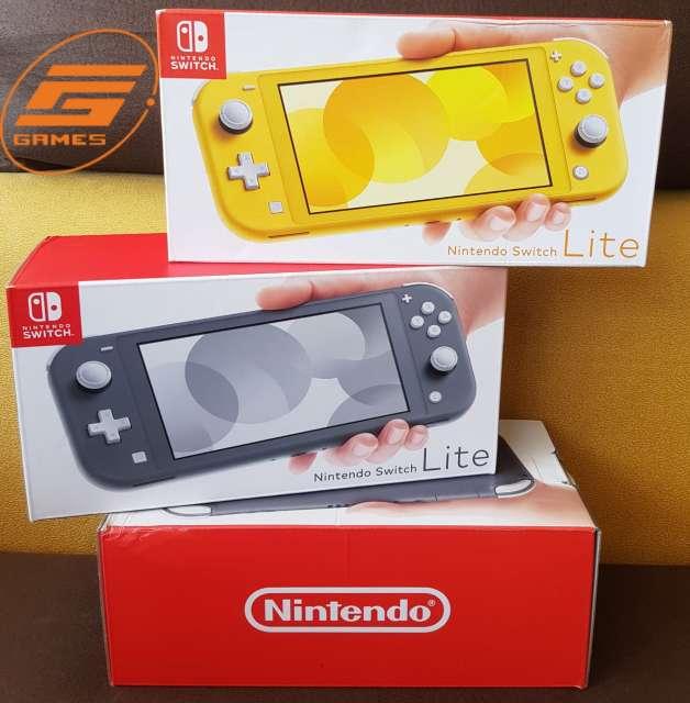 Imagen Consola de Nintendo switch lite